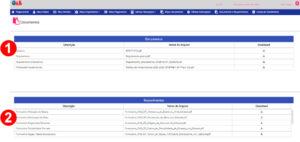 Documentos e requerimentos